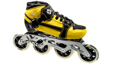 Pursuit Skate Yellow/Black Skate Kids 84mm
