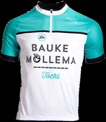 Bauke Mollema wielershirt / mintgroen