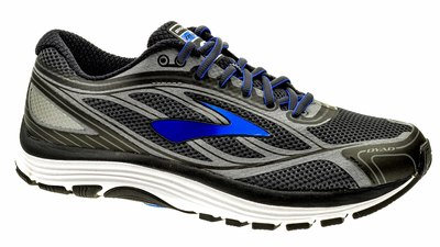 Dyad 9 asphalt/electric-Brooks-blue/black