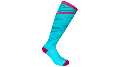 Unisex Fanatic Compression socks [turquoise/fuchsia]