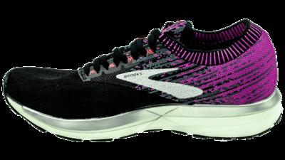 Brooks Ricochet black/purple/coral
