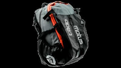 Waterflow gear skate skeeler bag - orange/grey