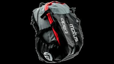 Waterflow gear skate skeeler bag - red/grey