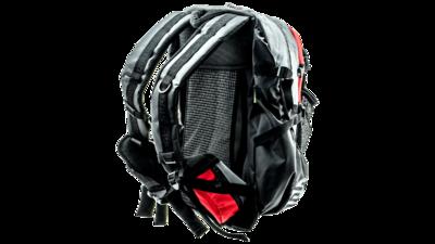 Cádomotus Waterflow gear skate skeeler bag - red/grey