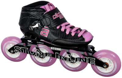 Rookie JR Roze met Stone 4x90mm