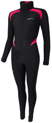 Thermo schaatspak colorblock Pink