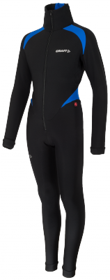 Thermo schaatspak colorblock