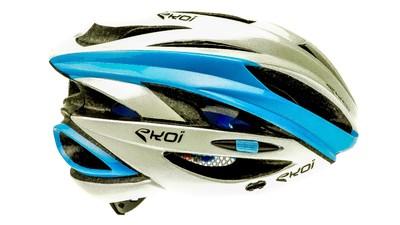 Helmet Fast white/blue