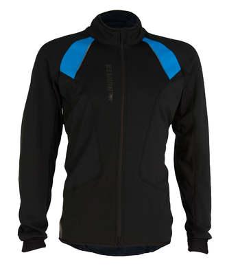 Windtex Comfort Jack Pro Heren Zwart/blauw