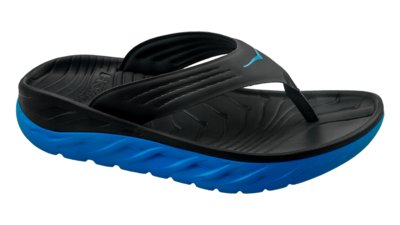 Men's Ora recovery flip - herstel slippers - black/blue