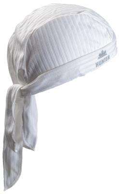 Hunter Piratenmuts helm bandana WIT