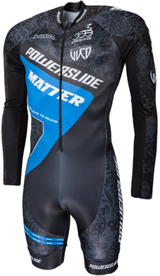 Skeelerpak Speed  World Blue 2017 Long Sleeve