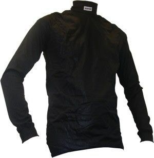 Shirt long sleeve turtleneck + windbreak