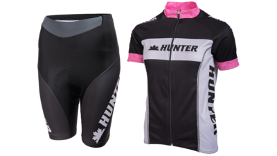 Cycling set short Perfect Pink