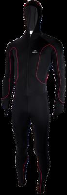 Speedpak lycra Pro with cap Black/Rouge