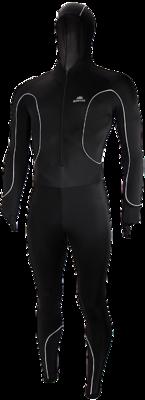 Speedpak lycra Pro with cap Black/White