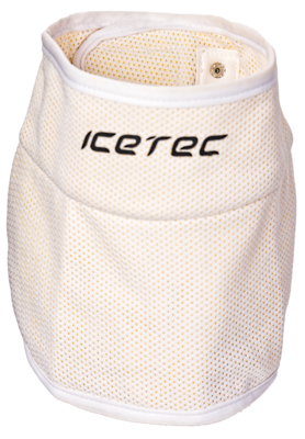 Cutfree neckprotector white