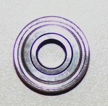 ABEC 5 (608ZZ) Silver