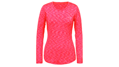 Women's running top - HAVEN [coral pink]