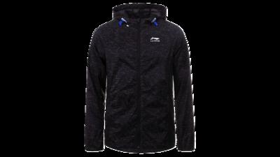 Men's running jacket - HARDEN [black]