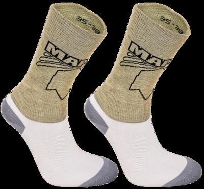 Cutresistant kevlar sock