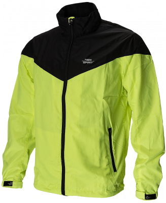 Running Jack fluo geel/zwart