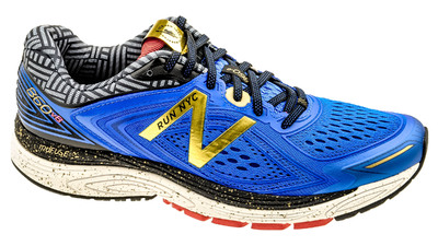 M 860v8 NYC Marathon vivid cobalt blue/gold