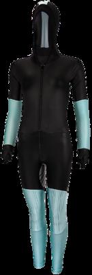 Speedskating Suit Black/mint