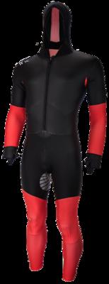 Speedskating Suit Black/RED