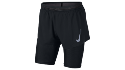 Men's AeroSwift 2-in-1 Cool shorts black/gunsmoke
