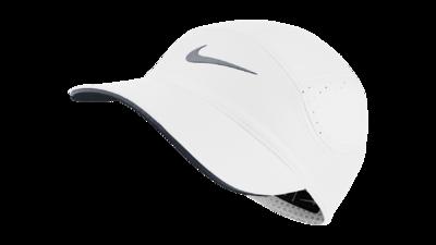 Dri-Fit AeroBill running cap [white/cool grey]
