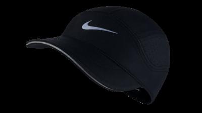 Women's Dri-Fit AeroBill running cap [black]