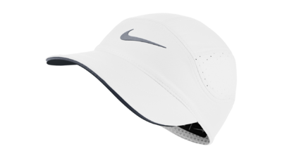 Dri-Fit AeroBill Running cap - white/cool grey - women