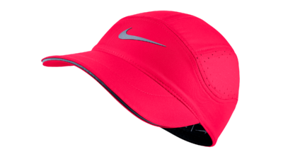 Dri-Fit AeroBill Running cap - racer pink/black - women