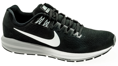 Air Zoom Structure 21 black/white - wolf grey