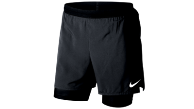 Distance 2-in-1 running shorts - black