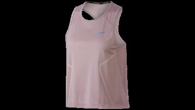 Women's Dry Miler running tanktop [barely rose]
