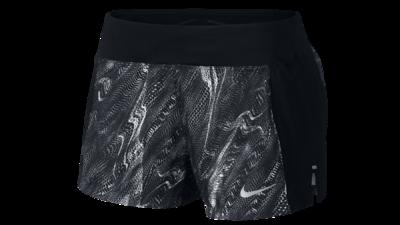 "Eclipse 3"" running shorts black texture"