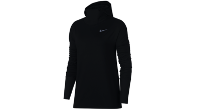 Women's Element Hoodie running - black