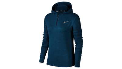 Dry Fit Elements Hoodie running obsidian/blueforce
