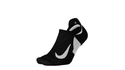 Elite Cushion No show Running socks black/white unisex