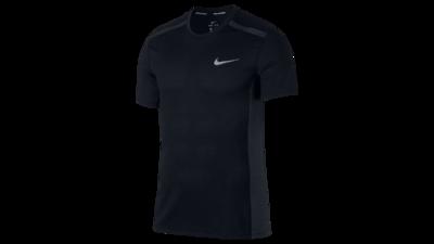 Men's Cool Miler short sleeve running top black