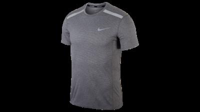 Men's Cool Miler short sleeve running top grey