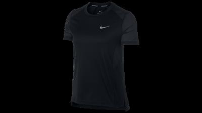 Miler short sleeve running top black