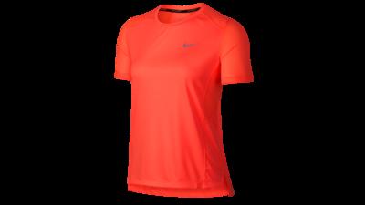 Miler short sleeve running top crimson pulse