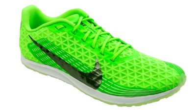 Zoom Rival XC electric green/mtlc pewter [unisex]