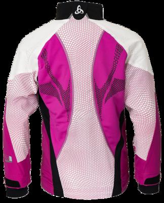 Odlo Jacket Frequency Web Violet/Roze KIDS