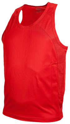 Team Singlet Men Rood