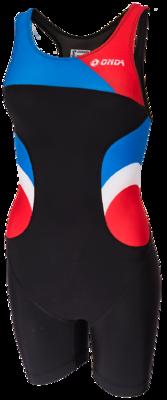 Triathlonpak Dames Pro zwart/blauw