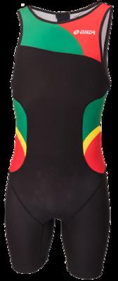 Triathlonpak Pro zwart/groen